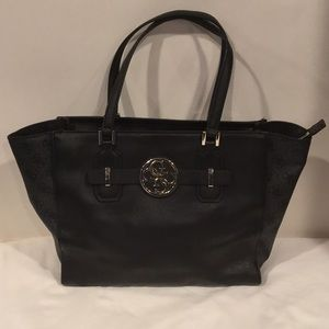 Guess zippered tote